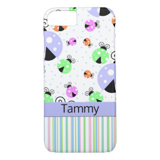 Colorful Ladybugs iPhone 7 Tough Case