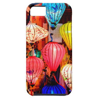 Colorful lanterns iPhone 5 cases