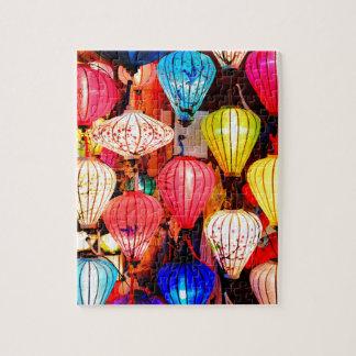 Colorful lanterns jigsaw puzzle