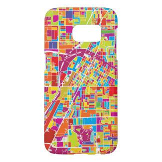 Colorful Las Vegas, Nevada Map