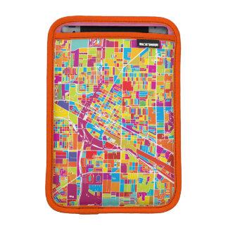 Colorful Las Vegas, Nevada Map iPad Mini Sleeve