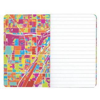 Colorful Las Vegas, Nevada Map Journal