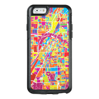 Colorful Las Vegas, Nevada Map OtterBox iPhone 6/6s Case