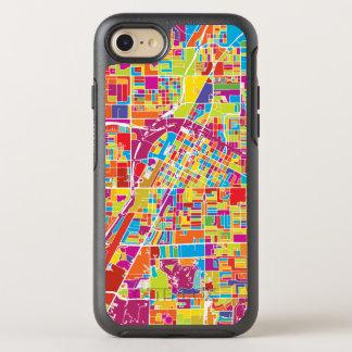Colorful Las Vegas, Nevada Map OtterBox Symmetry iPhone 8/7 Case