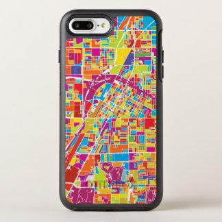 Colorful Las Vegas, Nevada Map OtterBox Symmetry iPhone 8 Plus/7 Plus Case