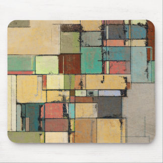 Colorful Lattice Abstract Mousepad