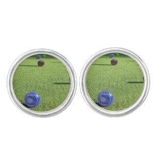 Colorful Lawn Bowls, Cufflinks