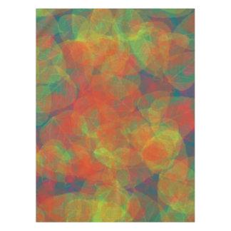 Colorful Leaf Design Table Cloth Tablecloth