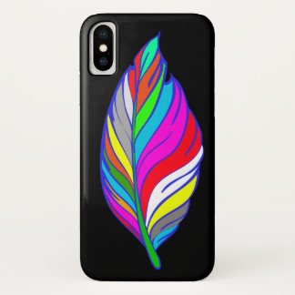 Colorful Leaf iPhone X Case