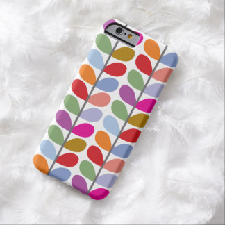 Colorful Leaf Pattern Barely There iPhone 6 Case