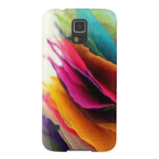 Colorful Leaf Pattern Galaxy S5 Case