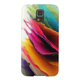 Colorful Leaf Pattern Galaxy S5 Cover