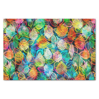 Colorful Leafs Tissue Paper