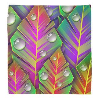 Colorful  leaves bandana
