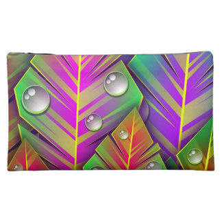 Colorful  leaves cosmetic bag