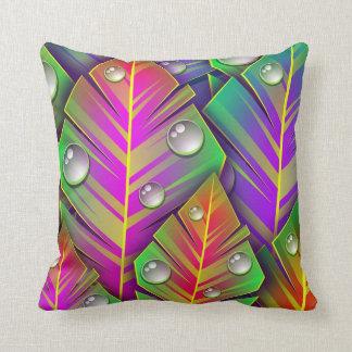 Colorful  leaves cushion