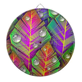 Colorful  leaves dartboards