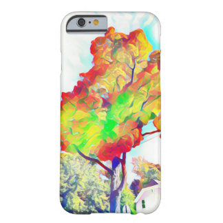 Colorful leaves digital Art iPhone6 phone case