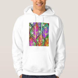 Colorful  leaves hoodie