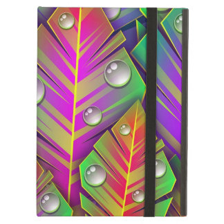 Colorful  leaves iPad air cover