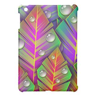 Colorful  leaves iPad mini cover