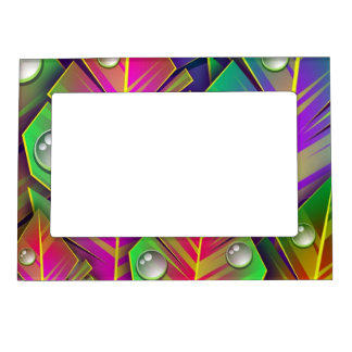 Colorful Leaves Magnetic Frame