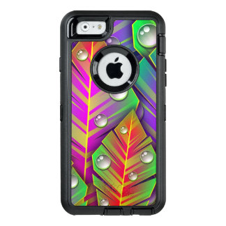 Colorful Leaves OtterBox Defender iPhone Case