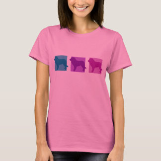 Colorful Leonberger Silhouettes T-Shirt