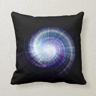 Colorful light rays Art Design Throw Cushion