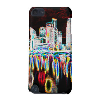 Colorful lighting city night iPod touch 5G cases