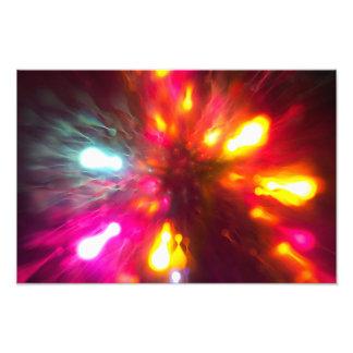 Colorful Lights Photo Print