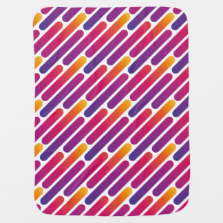 Colorful Line Pattern Baby Blanket