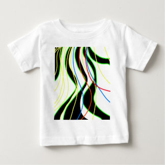 Colorful lines  - abstraction baby T-Shirt
