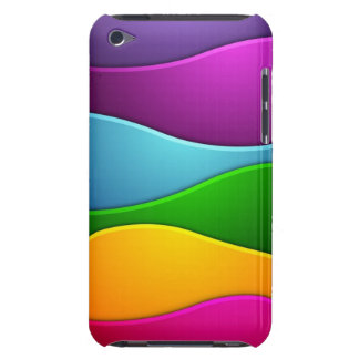 Colorful lines iPod touch Case-Mate case