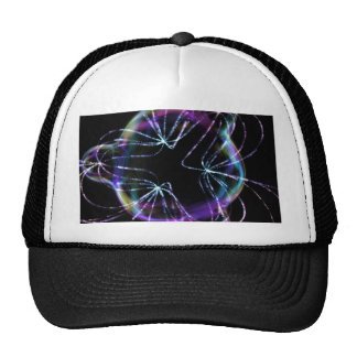 Colorful Lines Mesh Hat