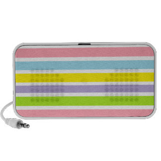 Colorful Lines Travel Speaker