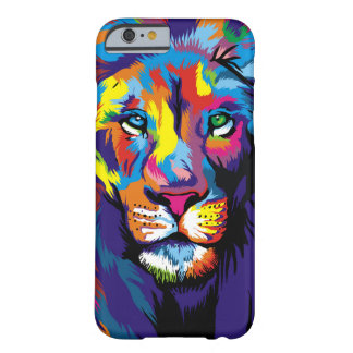 Colorful lion barely there iPhone 6 case