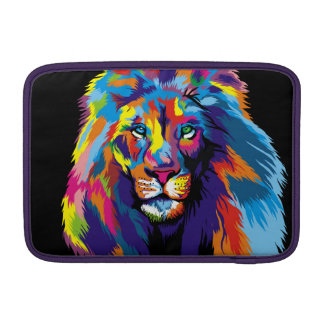 Colorful lion MacBook air sleeves