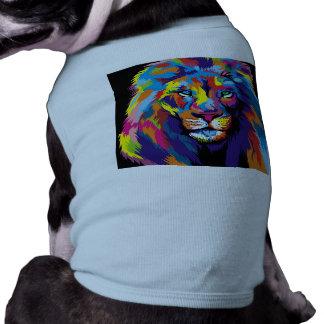 Colorful lion shirt
