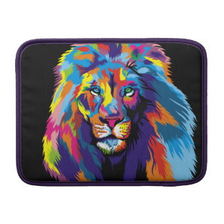 Colorful lion sleeve for MacBook air