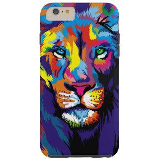 Colorful lion tough iPhone 6 plus case