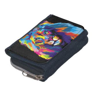 Colorful lion wallet