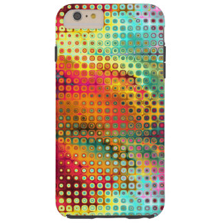 Colorful Liquid Micro Dots Abstract Pattern Tough iPhone 6 Plus Case