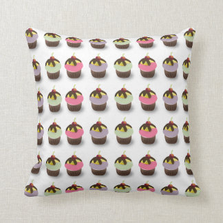 Colorful Little Cupcakes American MoJo Pillow