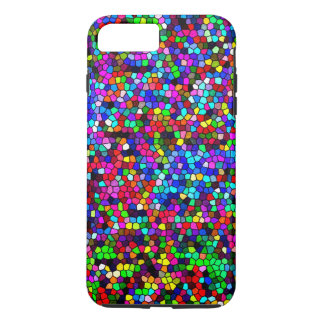 Colorful Little Polygons iPhone 7 Plus Case