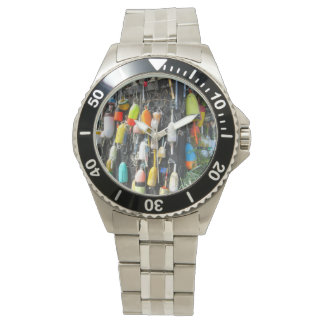 Colorful Lobster Buoys Watch