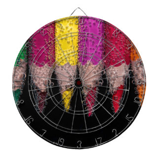 Colorful Logo Dartboard