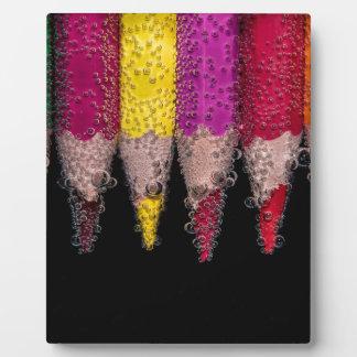 Colorful Logo Plaque