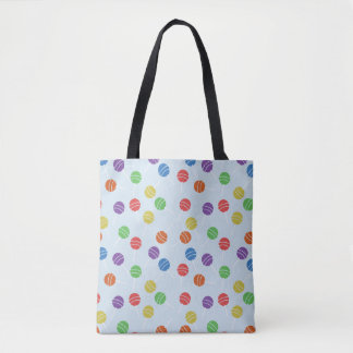 Colorful Lollipop Tote Bag