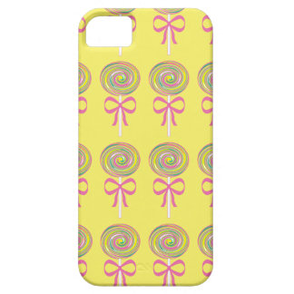 Colorful lollipops pattern iPhone 5 cover